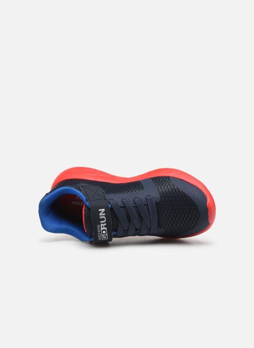 Zapatillas de deporte Skechers Go Run 600- Roxlo Azul vista lateral izquierda