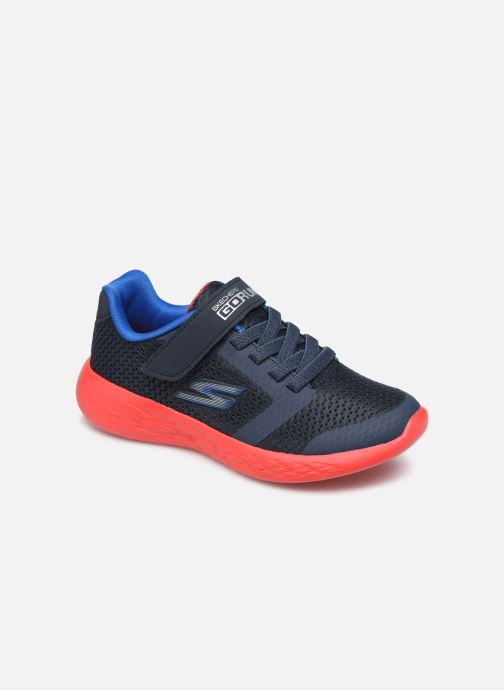 Sport shoes Skechers Go Run 600- Roxlo Blue detailed view/ Pair view