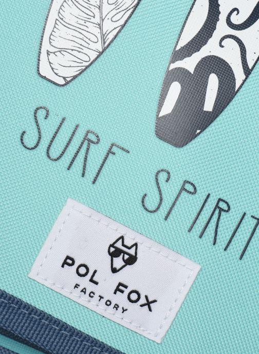 Scolaire Pol Fox CARTABLE REVERSIBLE 38CM Bleu vue derrière