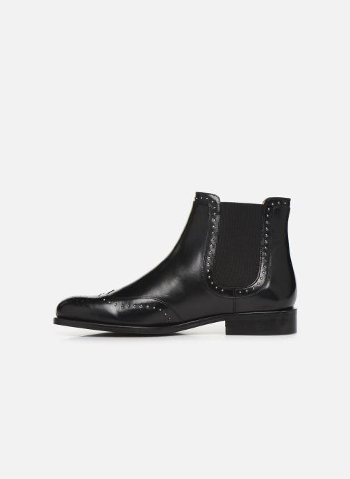 Bottines et boots Georgia Rose Elito Noir vue face