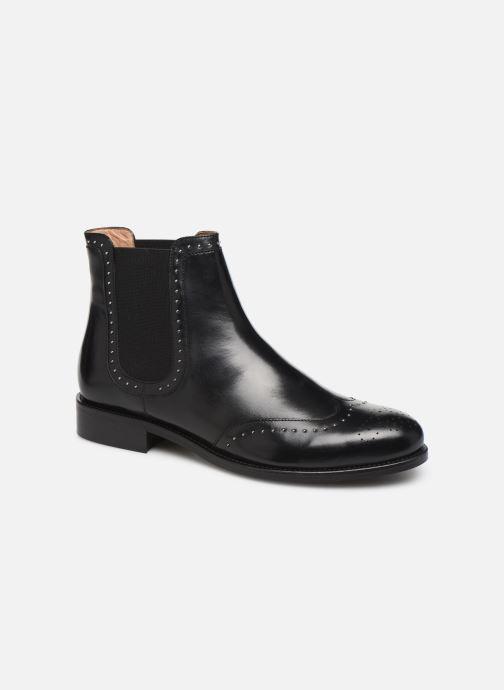 Bottines et boots Georgia Rose Elito Noir vue détail/paire