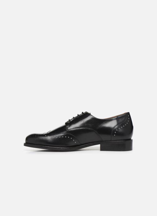 Zapatos con cordones Georgia Rose Edda Negro vista de frente