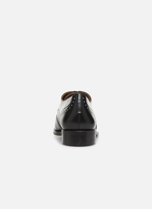 Zapatos con cordones Georgia Rose Edda Negro vista lateral derecha