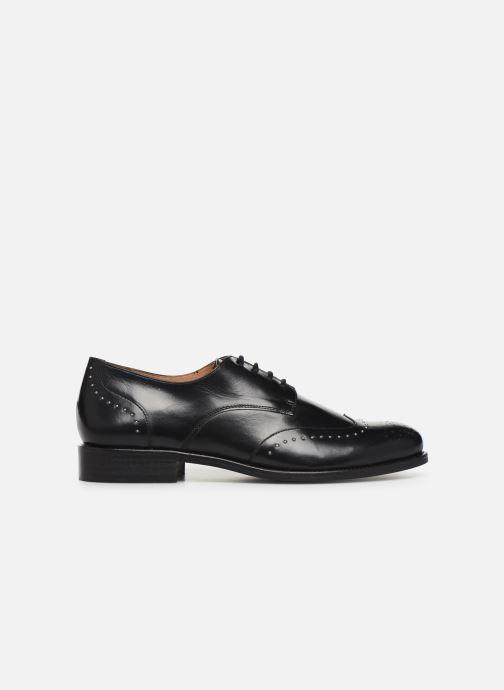 Zapatos con cordones Georgia Rose Edda Negro vistra trasera