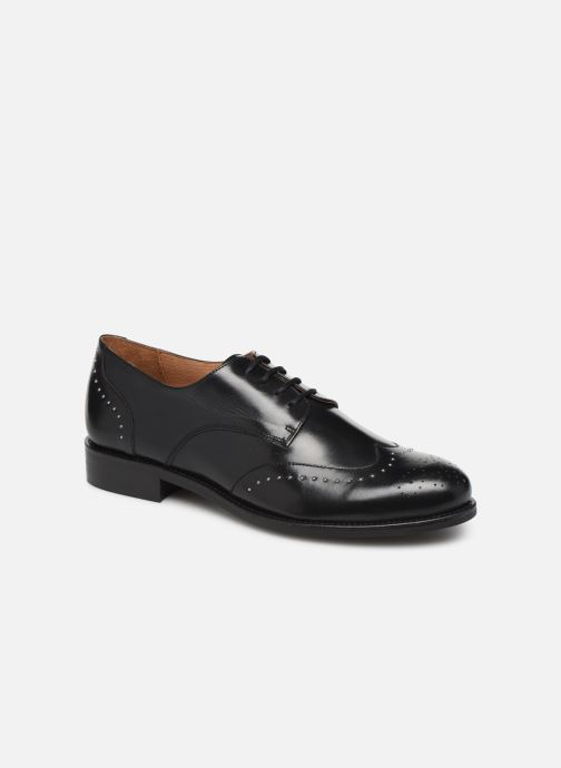 Zapatos con cordones Georgia Rose Edda Negro vista de detalle / par