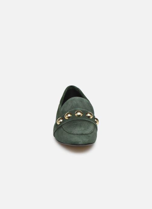 Mocassins Georgia Rose Eperlian Vert vue portées chaussures