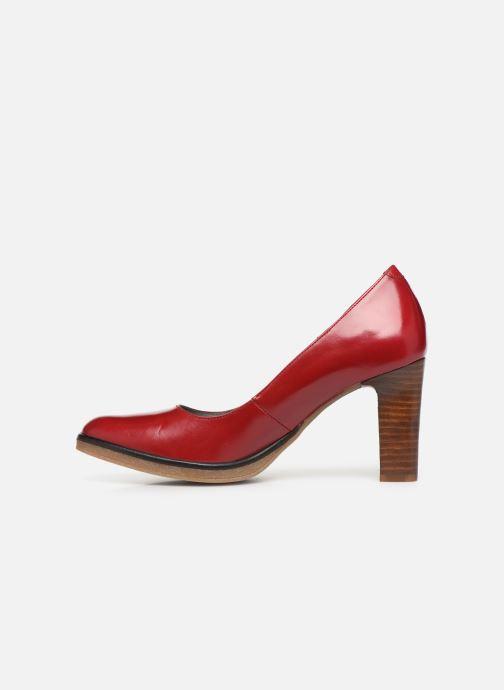Zapatos de tacón Georgia Rose Evaria Rojo vista de frente