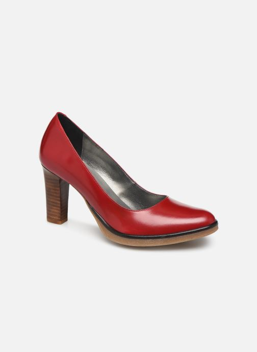 Zapatos de tacón Georgia Rose Evaria Rojo vista de detalle / par