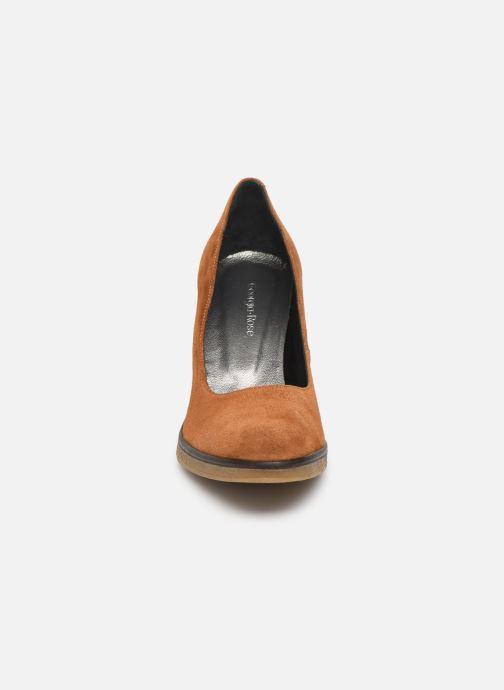 Zapatos de tacón Georgia Rose Evaria Marrón vista del modelo
