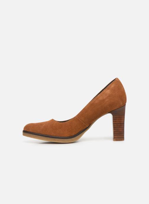 Zapatos de tacón Georgia Rose Evaria Marrón vista de frente