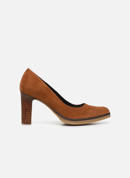 Zapatos de tacón Georgia Rose Evaria Marrón vistra trasera