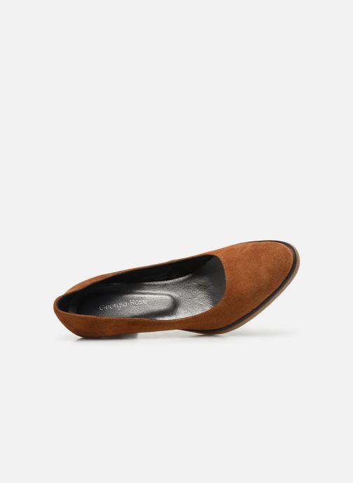 Zapatos de tacón Georgia Rose Evaria Marrón vista lateral izquierda