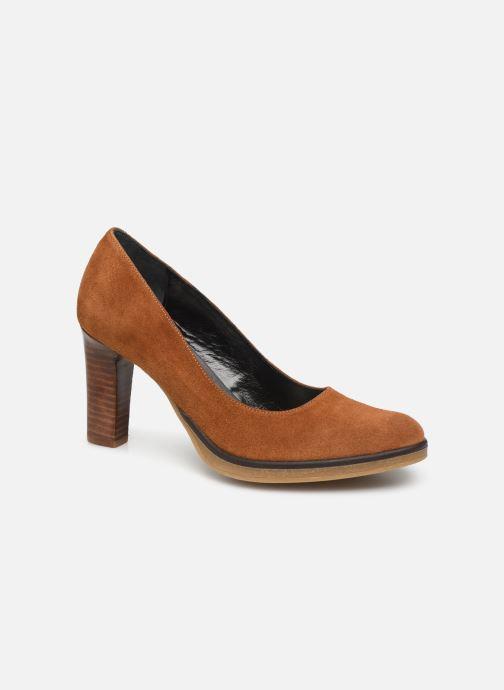 Zapatos de tacón Georgia Rose Evaria Marrón vista de detalle / par