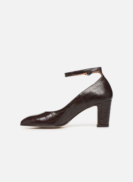 Zapatos de tacón Georgia Rose Ezila Marrón vista de frente