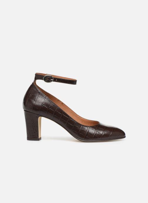 Zapatos de tacón Georgia Rose Ezila Marrón vistra trasera