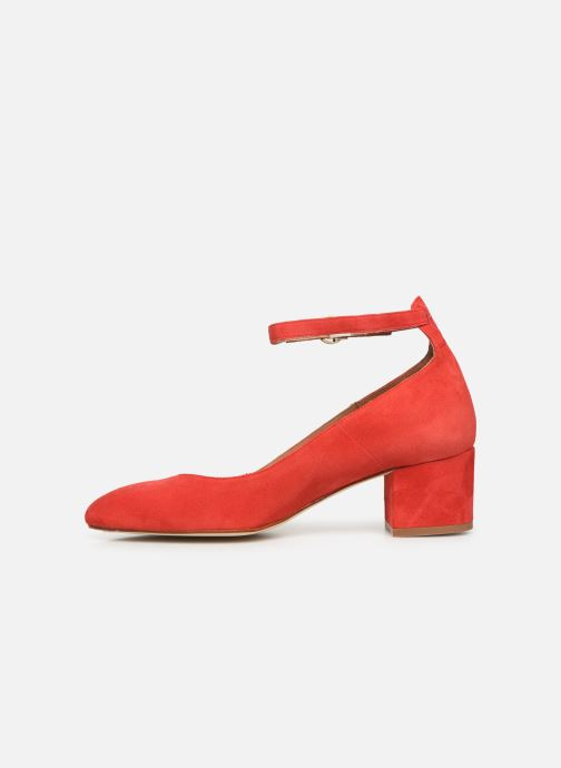 Zapatos de tacón Georgia Rose Exeri Rojo vista de frente