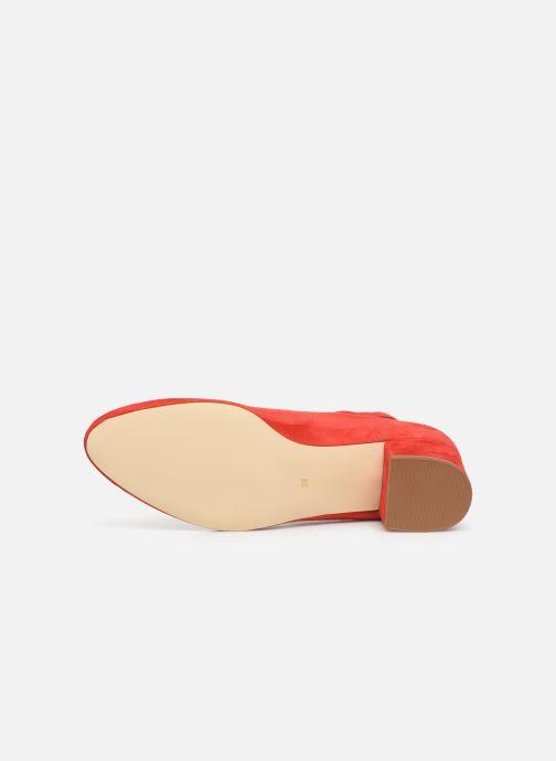 Zapatos de tacón Georgia Rose Exeri Rojo vista de arriba