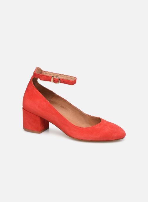Zapatos de tacón Georgia Rose Exeri Rojo vista de detalle / par
