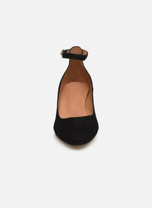 Zapatos de tacón Georgia Rose Exeri Negro vista del modelo