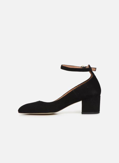 Zapatos de tacón Georgia Rose Exeri Negro vista de frente