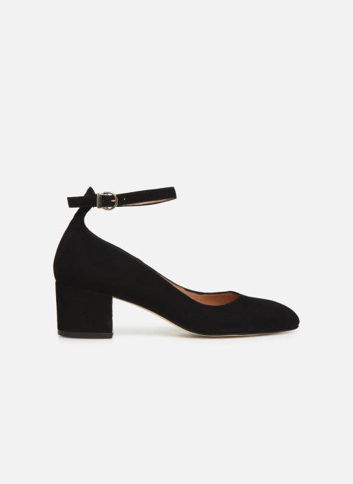 Zapatos de tacón Georgia Rose Exeri Negro vistra trasera