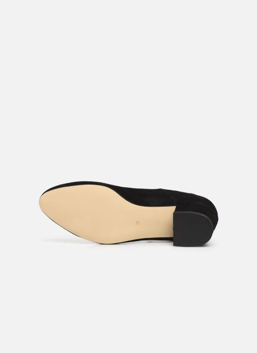 Zapatos de tacón Georgia Rose Exeri Negro vista de arriba