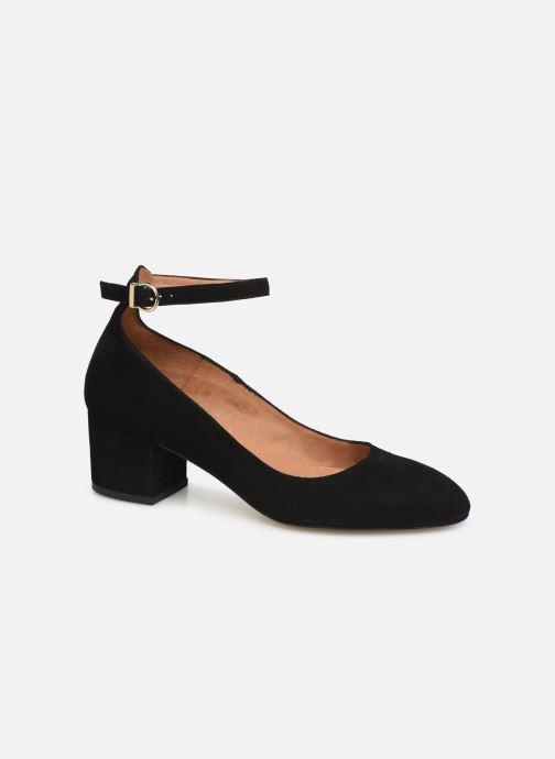 High heels Georgia Rose Exeri Black detailed view/ Pair view