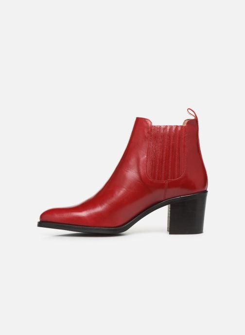 Bottines et boots Georgia Rose Echupa Rouge vue face