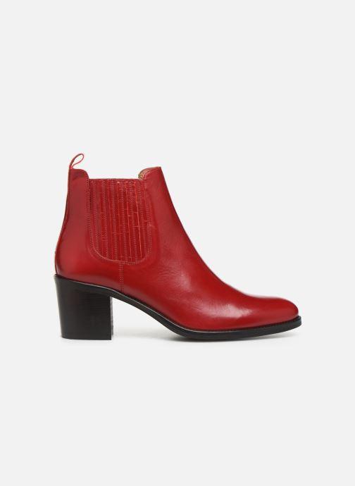 Bottines et boots Georgia Rose Echupa Rouge vue derrière
