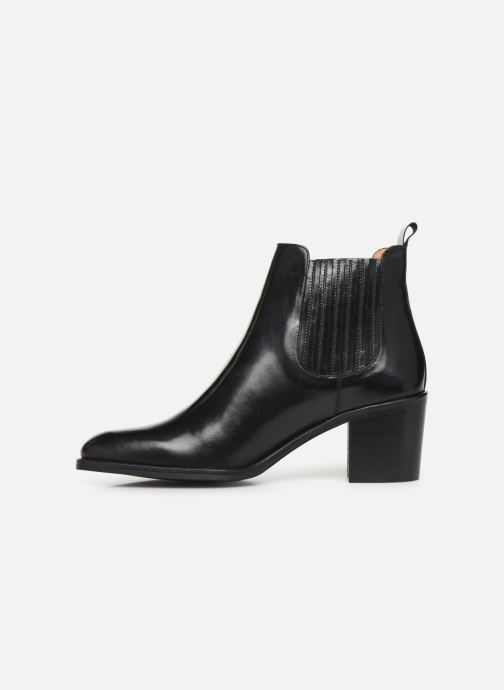 Bottines et boots Georgia Rose Echupa Noir vue face