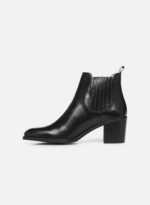 Ankle boots Georgia Rose Echupa Black front view