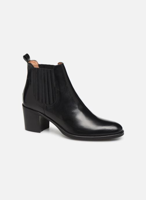 Bottines et boots Georgia Rose Echupa Noir vue détail/paire