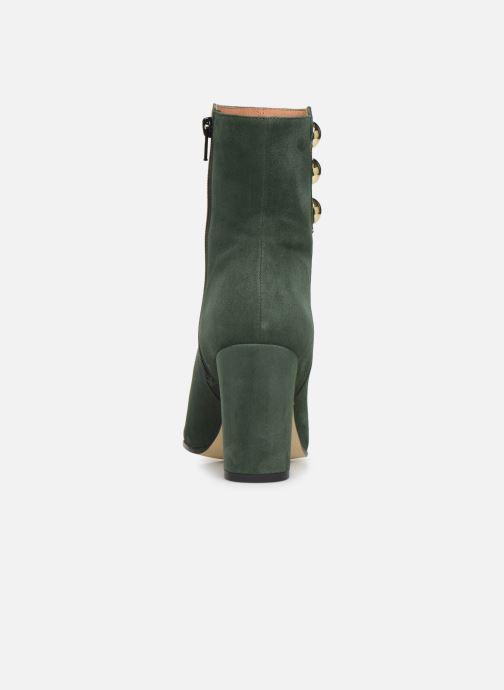Bottines et boots Georgia Rose Eofficia Vert vue droite