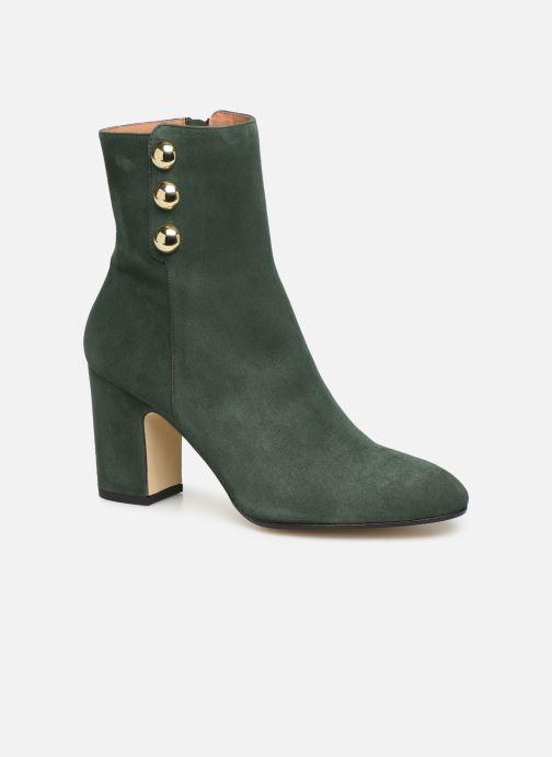 Bottines et boots Georgia Rose Eofficia Vert vue détail/paire