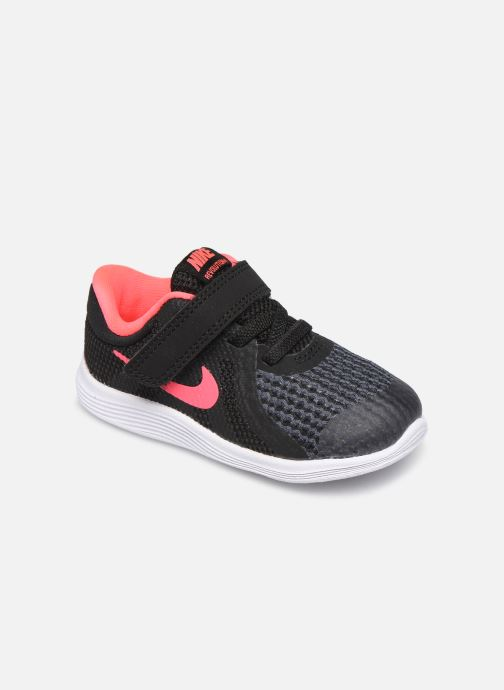 Baskets Nike Nike Revolution 4 (Tdv) Noir vue détail/paire