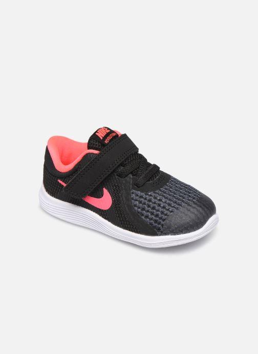 Deportivas Nike Nike Revolution 4 (Tdv) Negro vista de detalle / par