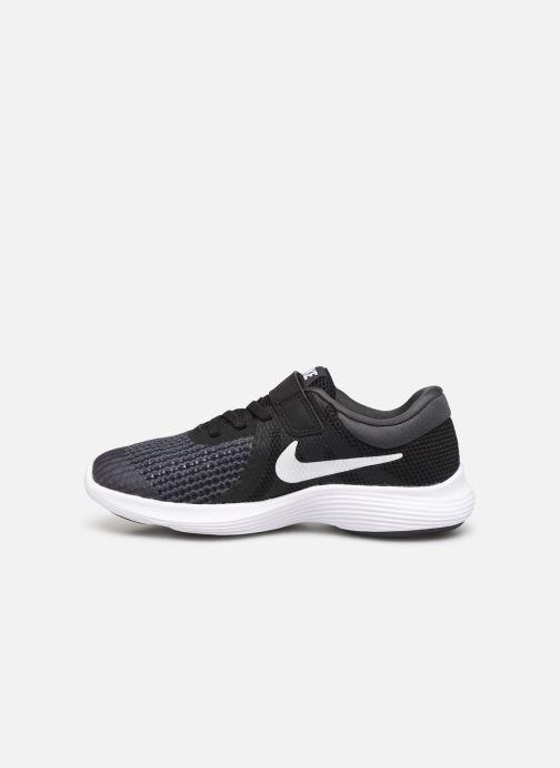 Sneaker Nike Nike Revolution 4 (Psv) schwarz ansicht von vorne