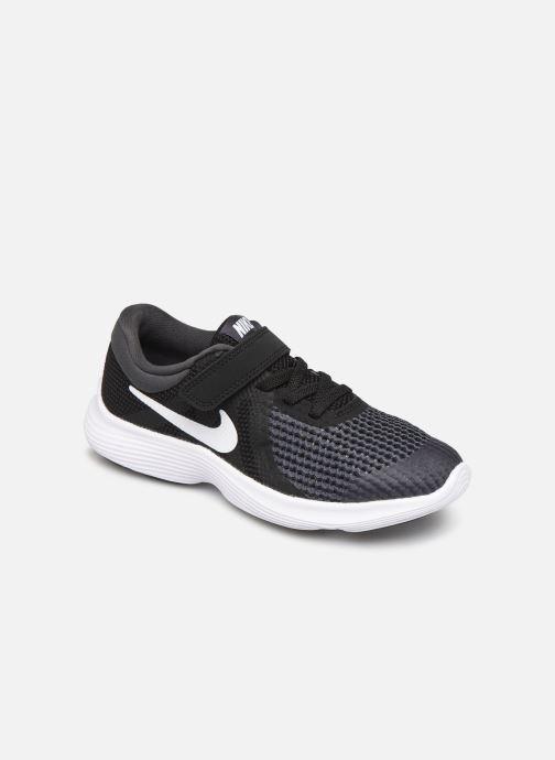 Trainers Nike Nike Revolution 4 (Psv) Black detailed view/ Pair view