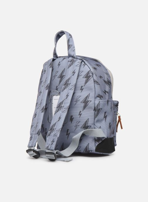 School bags Shoesme STORM BACKPACK Grey view from the right