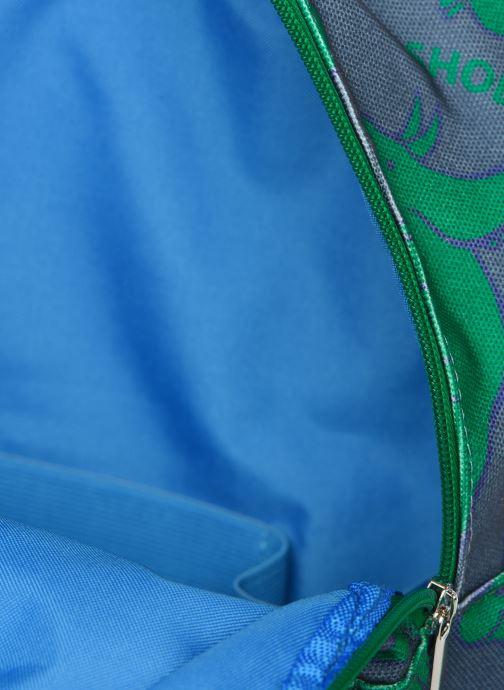 Schooltassen Shoesme DINO BACKPACK Blauw achterkant