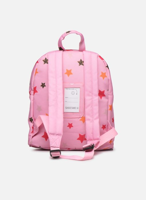 Scolaire Shoesme STARS BACKPACK Rose vue face
