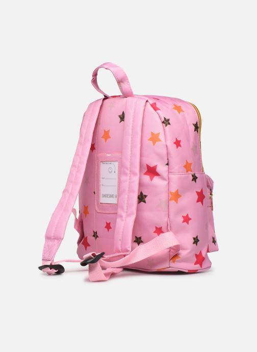 Schooltassen Shoesme STARS BACKPACK Roze rechts