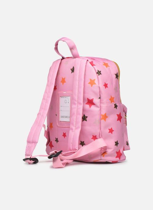 Schooltassen Shoesme STARS BACKPACK Roze rechts