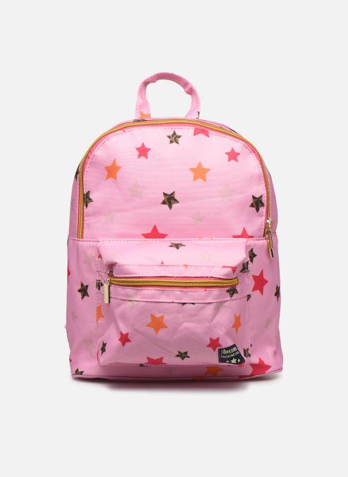 Schooltassen Shoesme STARS BACKPACK Roze detail