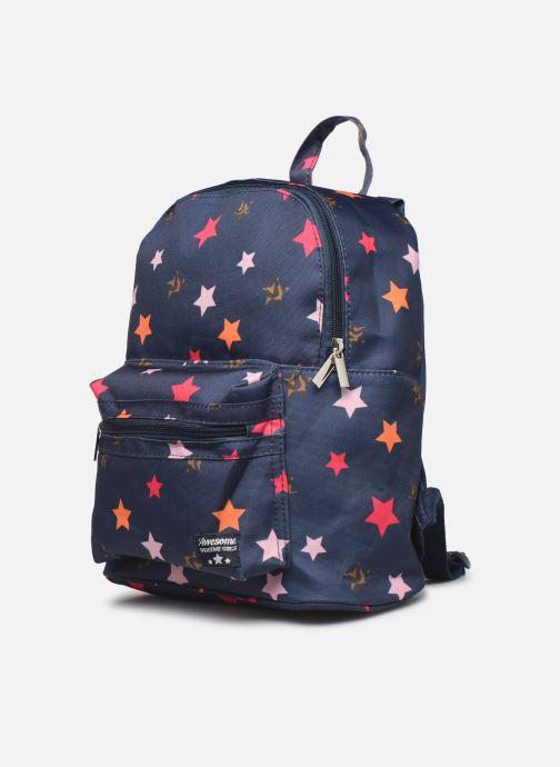 Per la scuola Shoesme STARS BACKPACK Azzurro modello indossato