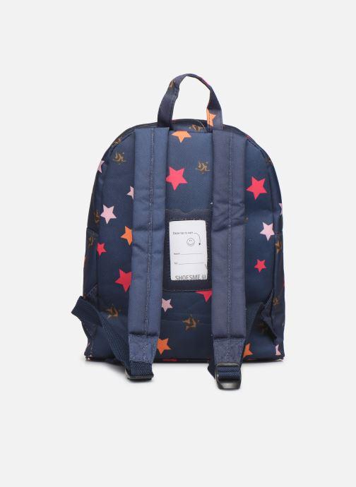 Per la scuola Shoesme STARS BACKPACK Azzurro immagine frontale