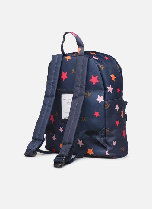 Bandoleras y Colegio Shoesme STARS BACKPACK Azul vista lateral derecha