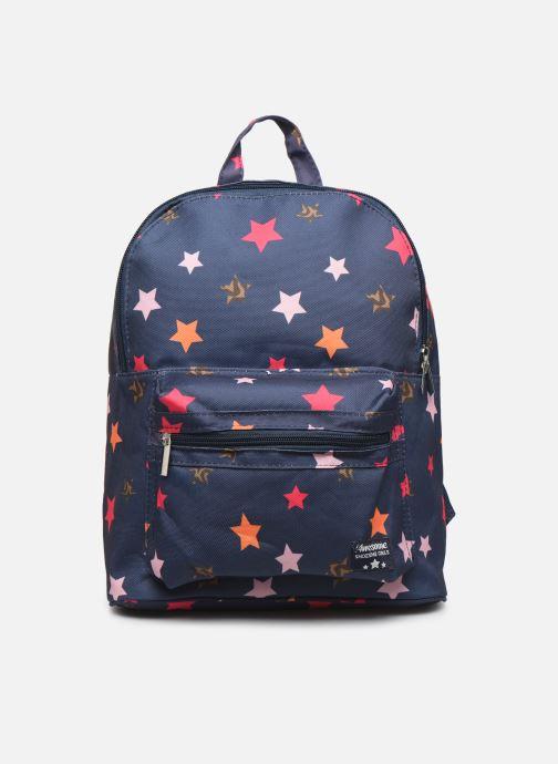 Skoletasker Shoesme STARS BACKPACK Blå detaljeret billede af skoene