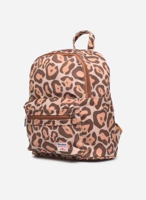 School bags Shoesme LEO BACKPACK Brown model view