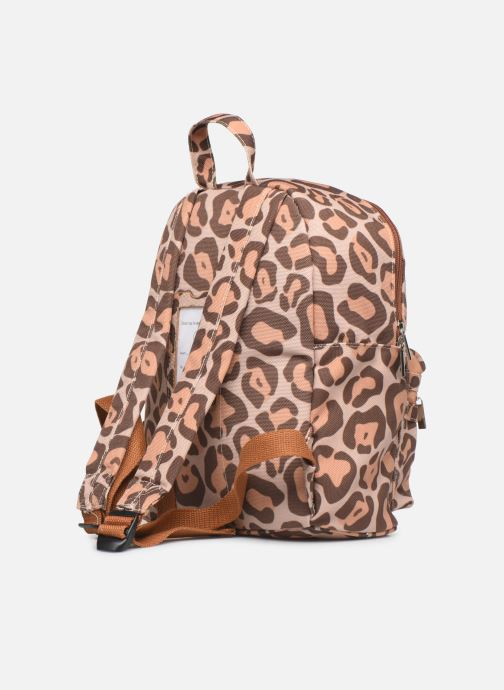 School bags Shoesme LEO BACKPACK Brown view from the right